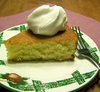 Homemade Plain Cake