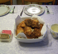 Marsha's Buttermilk Potato fried Chicken
