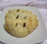 Apple Turnovers with Cream Cheese Pastry