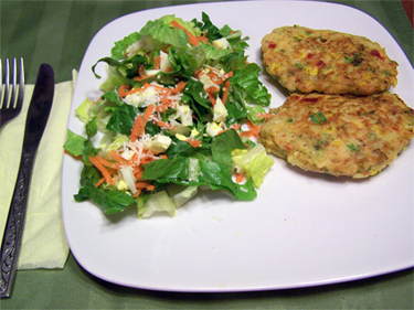 Vegetable Rice Patties