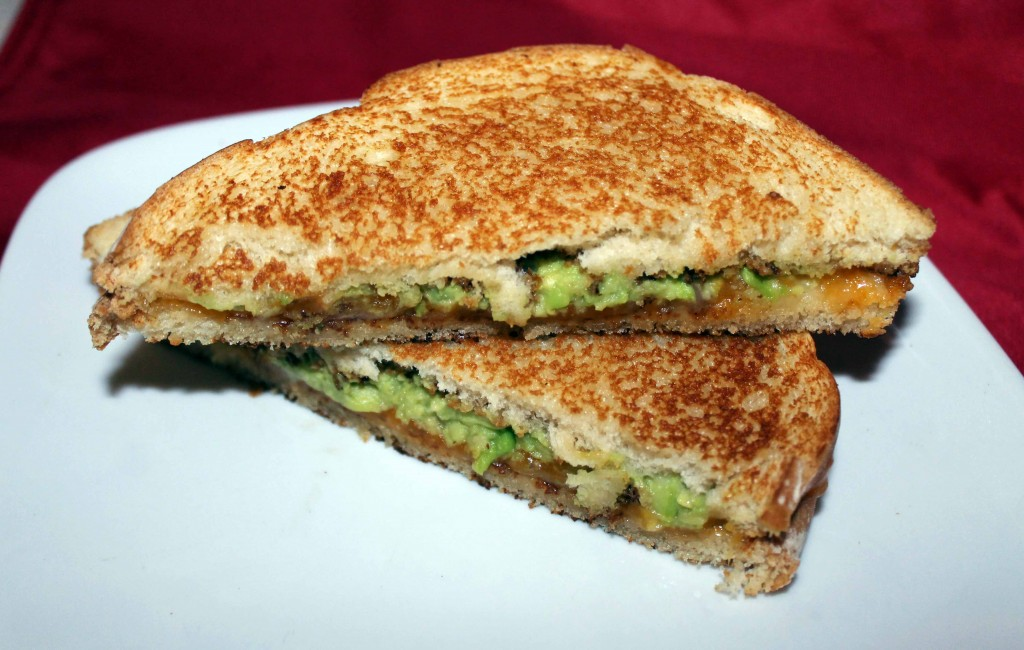 Grilled Cheese with Guacamole
