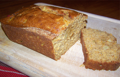 Pumpkin Apple Spice Bread